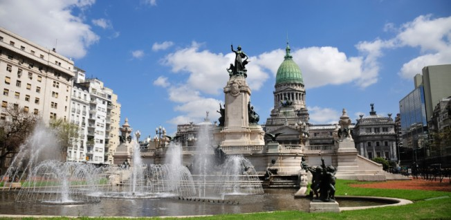The Congressional Plaza is one of the highlights in downtown Buenos Aires.