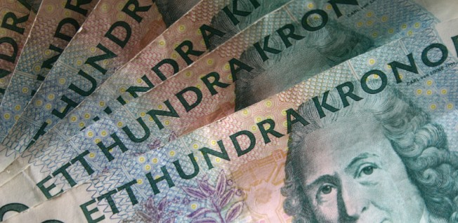 Sweden was among the few European countries which rejected the Euro.
