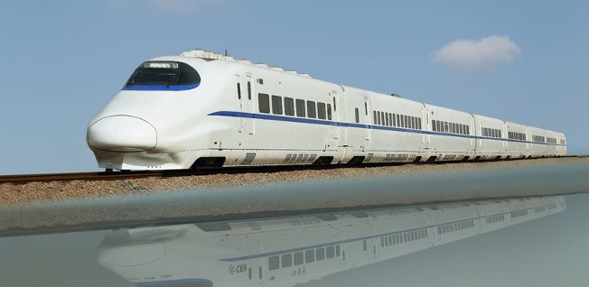 High-speed bullet trains in China have cut back travel times immensely.