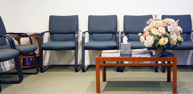 You will get to inspect waiting rooms and magazines in detail when visiting a German doctor's practice.