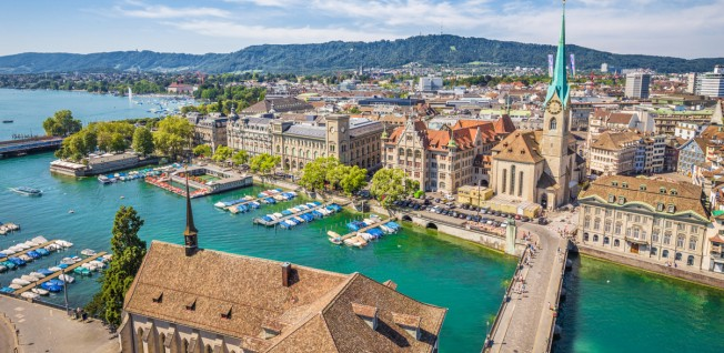 Zurich is famous for being the most expensive Swiss city in terms of rental costs.