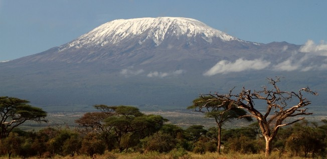 At 5,895m above sea level, Mt. Kilimanjaro is the highest point in Africa.