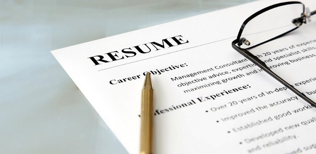 "Successful applicants don't ""recycle"" their resume."