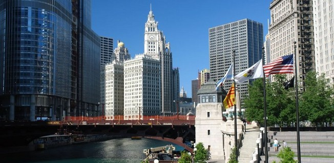 Chicago prides itself on being one of the greenest cities in the US.