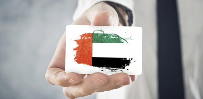 Business cards are a good way to establish business contacts in the UAE.