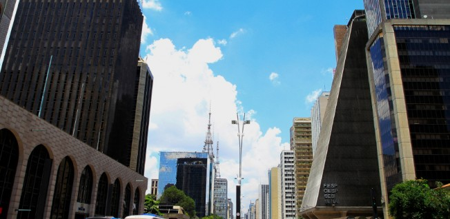 The city's financial district is the core of Brazil's growth engine.
