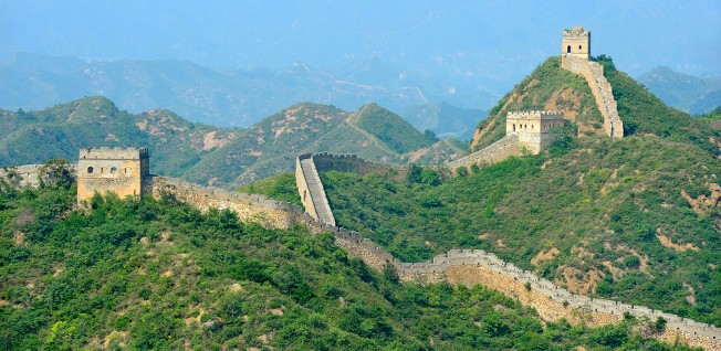 Most of the restored sections of the Great Wall are located near Beijing.