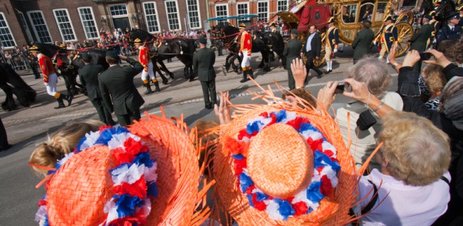 Stay healthy! You don't want to miss the Prinsjesdag parade.