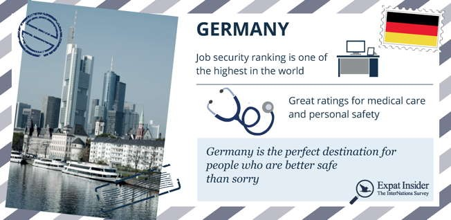 Germany is the right place for those who value a positive work-life balance.