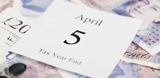 The UK tax year runs from 6 April to 5 April.