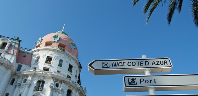 Nice's excellent location ensures strong business links.