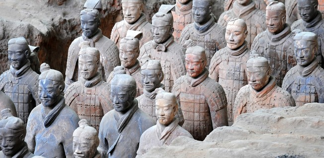 The Terracotta Army was discovered near Xi'an in 1974.
