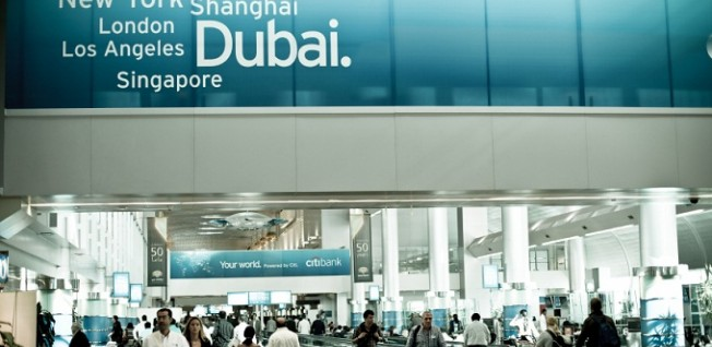 More than 18 million passengers pass through Dubai International Airport quarterly.