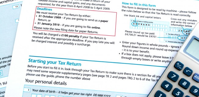 In London, you'll have to file your taxes with the HMRC.