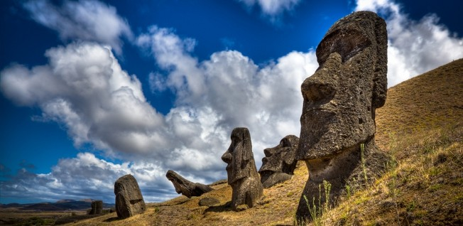 Easter Island, although officially belonging to Chile, has a unique culture and population.