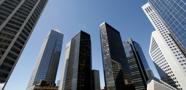 Downtown Calgary is a hub of economic activity and offers plenty of shopping opportunities.