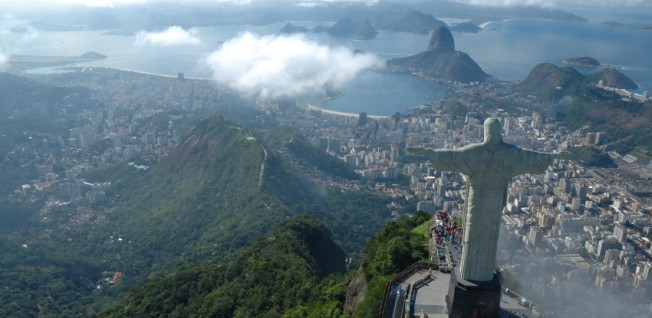 Brazil's overwhelming natural beauty is an incentive for expats to move there.