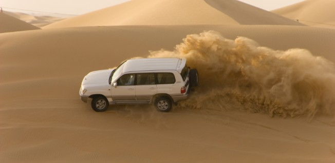 The average Kuwaiti car is designed to cope with extreme natural conditions.