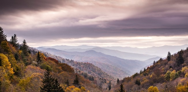 The Smoky Mountains are truly a sight to behold.