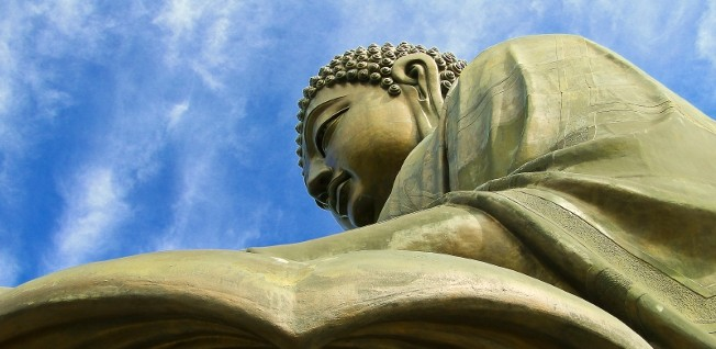 The Big Buddha in Hong Kong is an awe inspiring architectural feat.