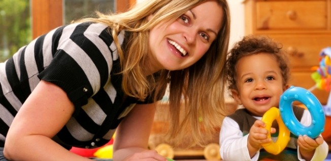 Working as an au-pair is an ideal job for younger expats who love kids.