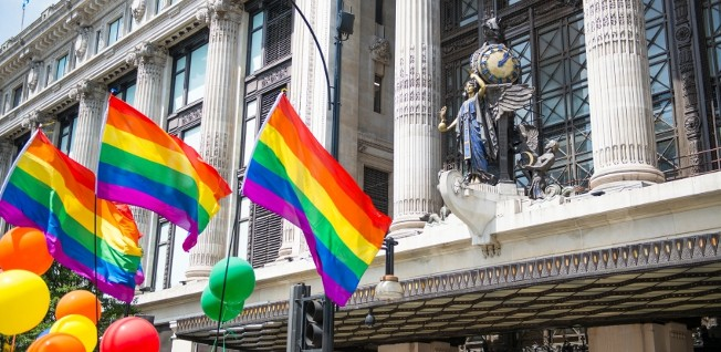 In 2013, the LGBT community in the UK was able to celebrate the introduction of gay marriage.