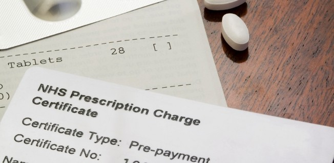 Prescription medication is not always free of charge.