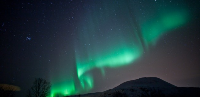 The aurora borealis is a great spectacle for many expats moving to Sweden.