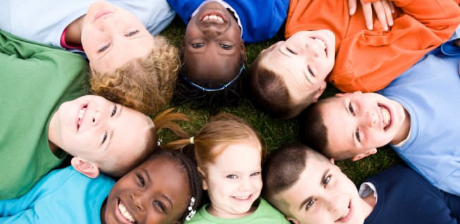 Children overcome differences with greater ease than adults.