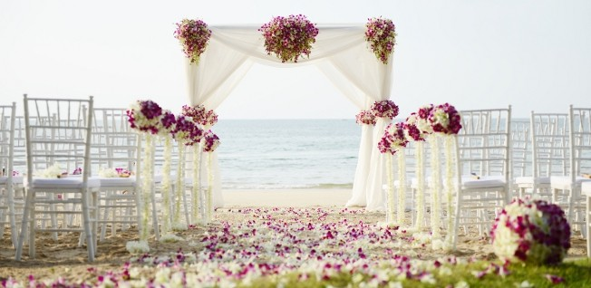 In the US, your wedding ceremony can take place at a location of your choosing.