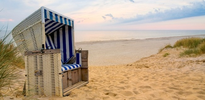 The beaches of North Sea and Baltic Sea are favorite destinations for domestic tourism in Germany.