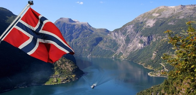 Norway is particularly famous for its  beautiful landscapes and harsh winters.