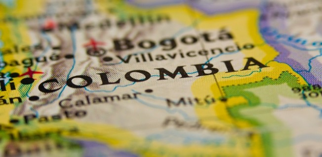Colombia is South America's fourth largest country.