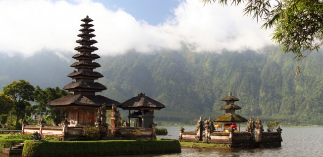Temples are a very important part of the Indonesian landscape.