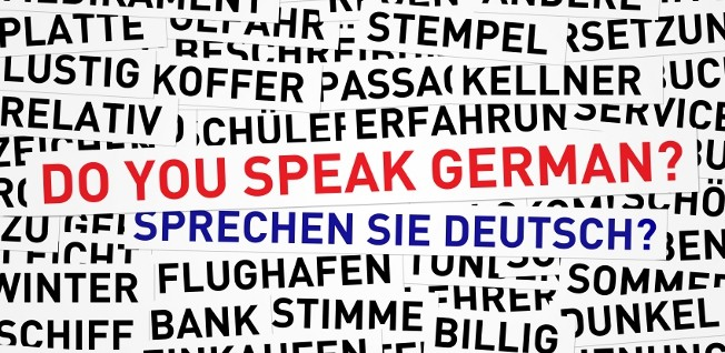 Interested in learning German? Many local residents will appreciate your efforts.