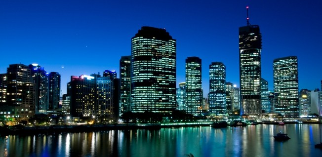 Brisbane's central business district is the growth engine of the Queensland economy.