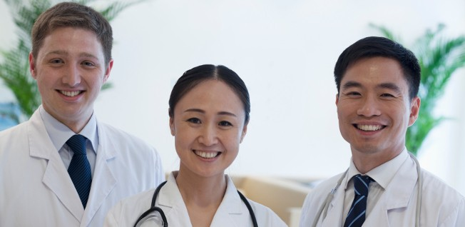 Hospitals aimed at foreign patients often have international medical staff.
