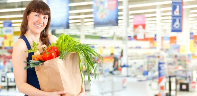 Shopping in supermarkets and buying local products can save you a lot of money.