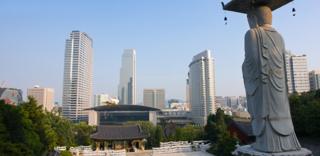 Despite the country's progressive make-up, conservative values often prevail in Seoul's business world.