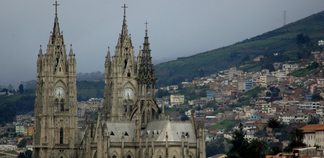 Just like Cuenca, the Old Town of Quito is a UNESCO World Heritage Site.