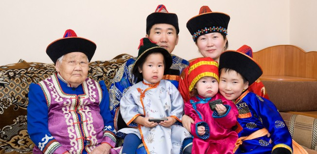 Approximately six million Mongols live in present-day China.